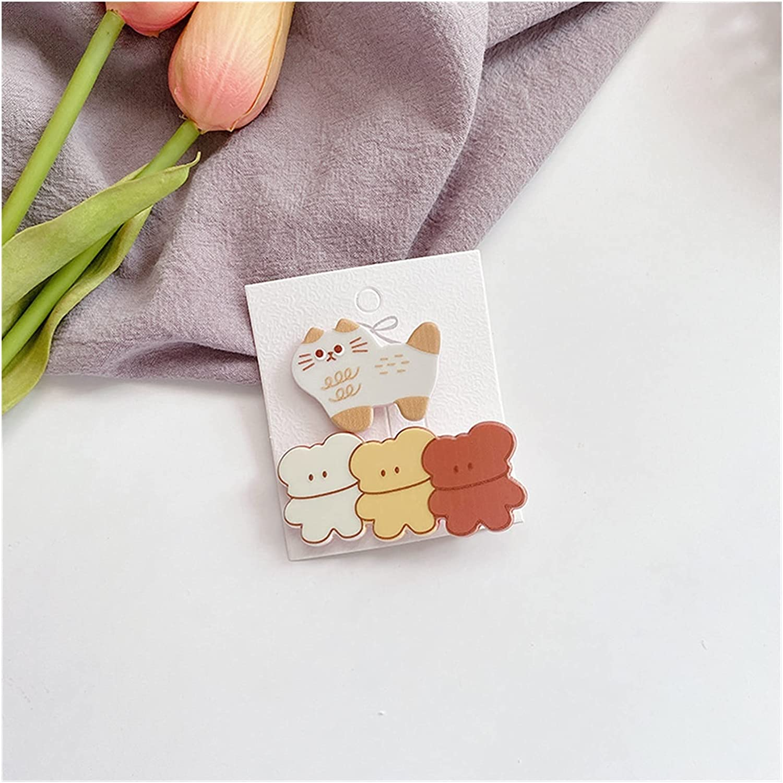 DUOYINGMY Hairpin 2 Pcs Children39;s Hairpins Sweet Flower trend rank Max 75% OFF Korea