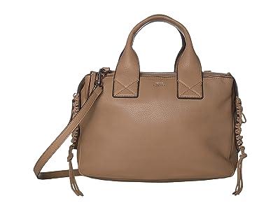 Vince Camuto Jayde Satchel (Tortilla) Handbags