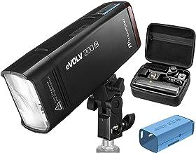 Godox X2 Godox AD200 Flashpoint eVOLV 200 TTL Pocket Flash with Barndoor Kit Built-in R2 2.4GHz Radio Remote System + R2 Mark II ETTL 2.4 GHz Wireless Flash Trigger for Olympus and Panasonic