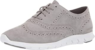 Cole Haan Womens W14475 Zerogrand Wing Oxford Closed Hole Ii Beige Size: