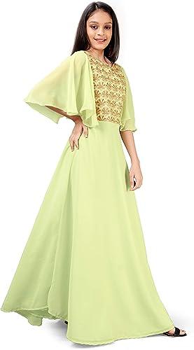 Girl s Maxi Dress GMD006 Pernia Pch 3 4 Yrs Pink 3 4 Years