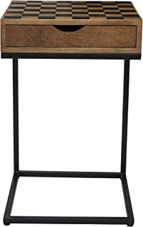 Jofran Global Archive Checkerboard C Table, 16.5