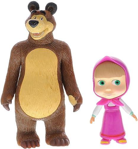 Masha and the Bear Medved , doll Masha Bear toys figures by Masha and the Bear