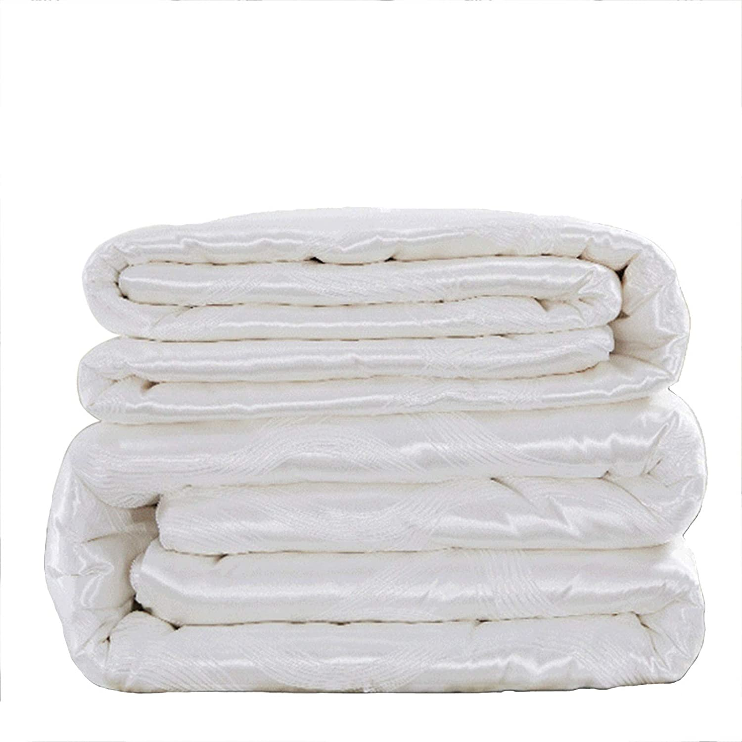 middle 100% Silk Filling Quilt Outlet ☆ Free Shipping Jacquard Max 49% OFF F Two-in-one Core