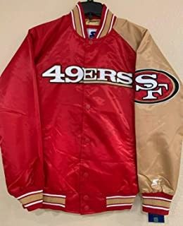 G-III Sports San Francisco 49ers Dugout - Spring Training Satin Jacket