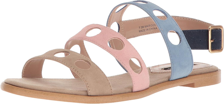 Kensie Womens Marigold Flat Sandal