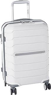 سامسونايت أوكتولايت سبينر حقيبة سفر صغيرة مصنوعة من البولي بروبيلين أبيض اللون معتمدة من إدارة أمن المواصلات الأمريكية: I7...