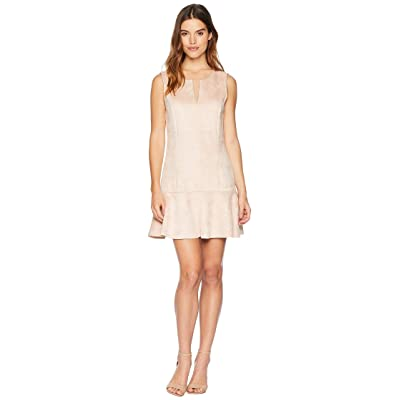 BCBGMAXAZRIA Flare Skirt Dress (Bare Pink) Women