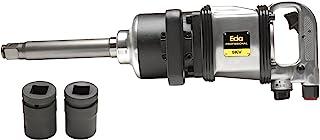 """Chave de impacto 1"""" 3. 200 RPM pescoço longo, Eda, 9KV, Prateado e Preto"""