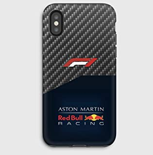F1 carbon Red Bull case for iPhone 11, 11 Pro, 11 Pro Max XS,XS Max,XR, X, 8, 8+, 7, 7+, 6S, 6, 6S+, 6+, 5C, 5, 5S, 5SE, 4S, 4,