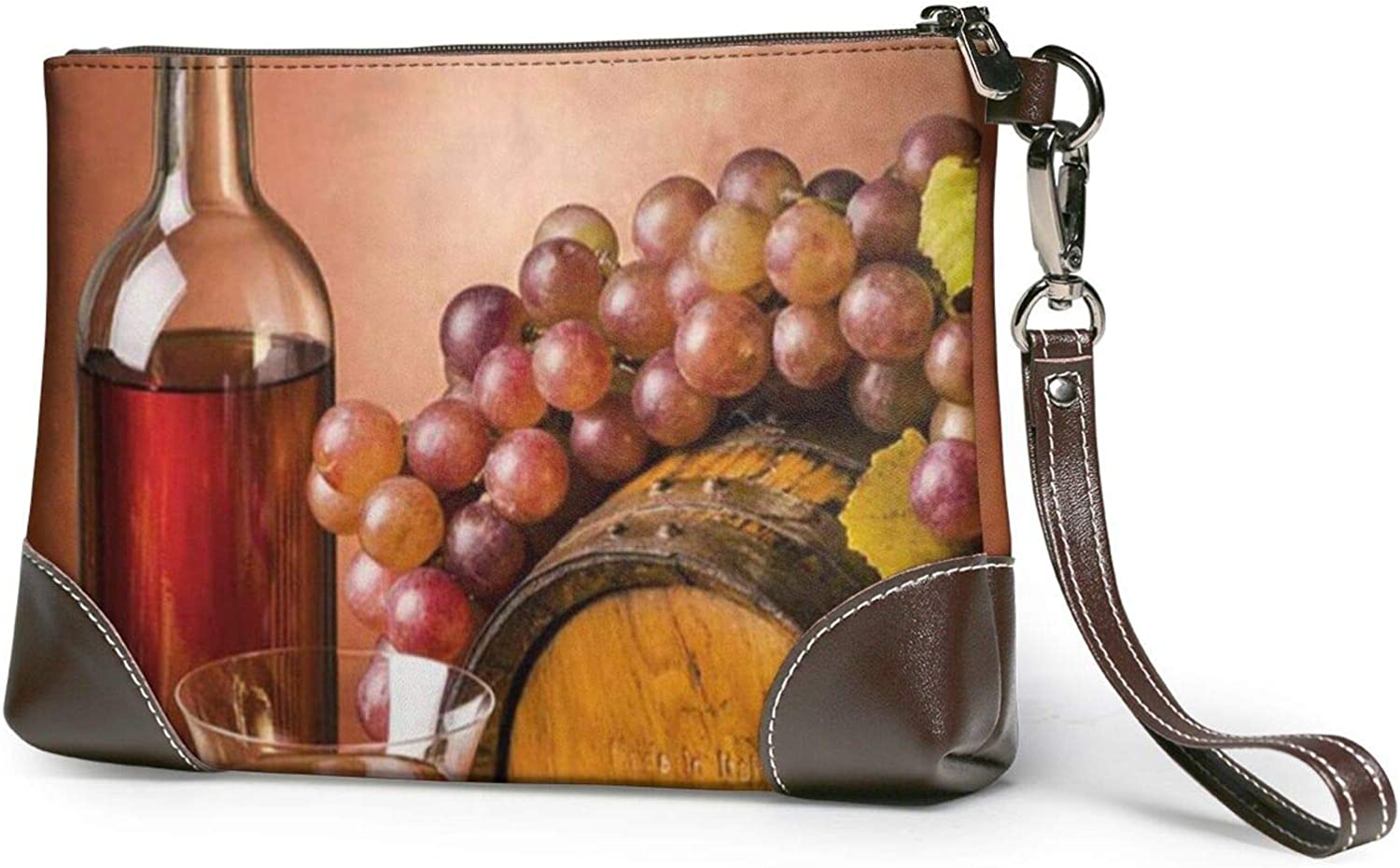 Food And Beverage Restaurant famous Clutch Leather Clut Easy-to-use Wristlet Purses