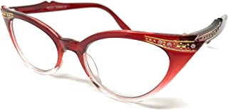 Cateye or High Pointed Eyeglasses or Sunglasses……