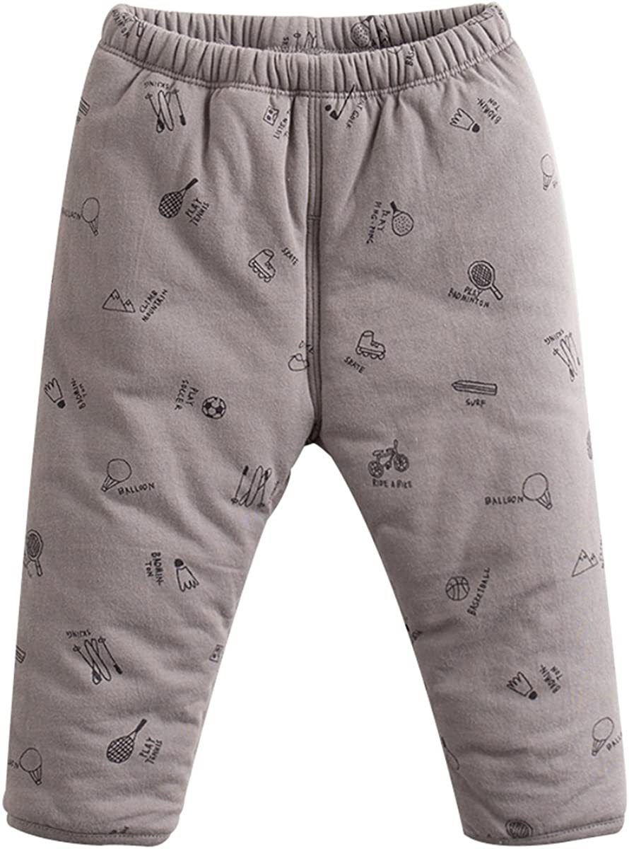 marc janie Max 77% OFF Baby Jacksonville Mall Toddler Boys Pants Girls' Outerwear Cartoon Warm
