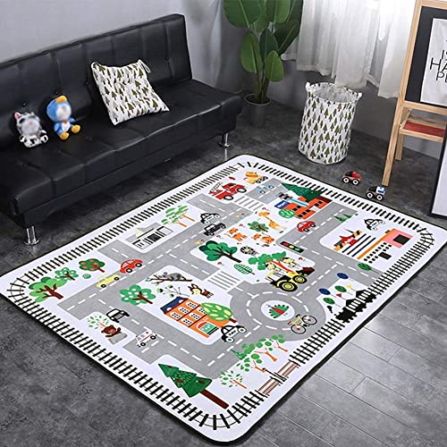 Mr.LQ Couverture Souple de Jeu d'intérieur de Tapis d'enfant de Tapis de Jeu portatif de Tapis de Jeu d'enfants de bébé,B,150x200cm