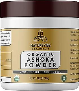Organic Ashoka Powder 8 Ounce - Natural Saraca Indica - Ayurvedic Herbal Powder