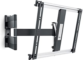Vogels THIN 445 Negro, Soporte de Pared para TV 26 - 55 Pulgadas, Inclinable y Giratorio 180º, Máx 18 kg y con sistema VES...