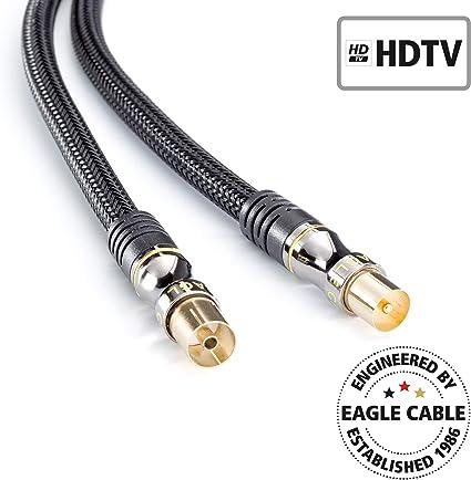 inakustik 10038016 - Cable coaxial de antena (m -> w ...