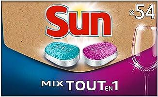 Sun Tablettes Lave-Vaisselle Mix Expert Tout-En-1 Format Ecologique Pratique, Livré Directement dans votre Boîte aux...