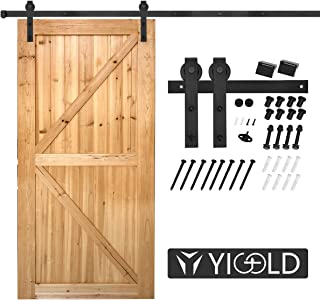 Best barn style sliding door track Reviews