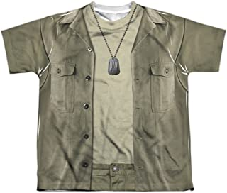 Mash - Hawkeye Costume Youth All Over Print 100% Poly T-Shirt