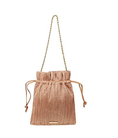 Loeffler Randall Sibyl Pleated Pouch with Chain Strap (Dune) Handbags