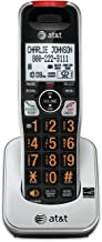 AT&T CRL80112 Accessory Cordless Handset, Black/Silver | Requires CRL81112, CRL81212, CRL82112, CRL82212, or CRL82312 to Operate