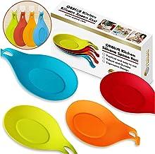 silicona Lurch 70263 Juego de 2 soportes para cucharas de cocina