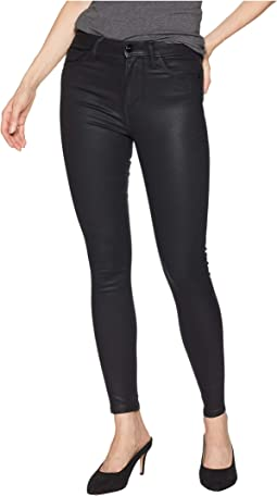 Stiletto High-Rise Skinny Ankle in Black