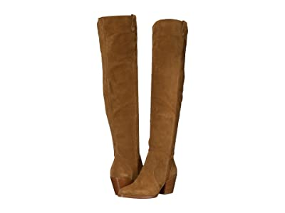 MICHAEL Michael Kors Bodkin Over the Knee Boot (Amber) Women