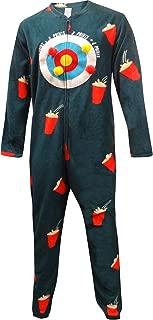 Bioworld Merchandising Men's Human Dart Board One Piece Union Suit Onesie Pajama