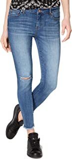 Celebrity Pink Juniors' Ripped Frayed Skinny Jeans