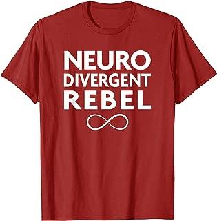 Red Instead Autism Shirt Neurodivergent Rebel T-Shirt