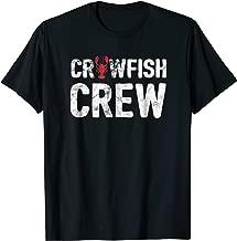Crawfish Crew Funny Cajun Crawfish Boil Shirt - White