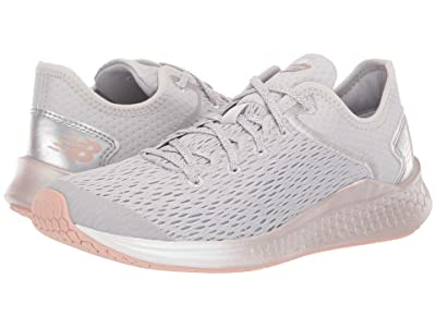 New Balance Kids Fresh Foam Fast (Little Kid/Big Kid) (Summer Fog/Champagne Metallic) Girls Shoes