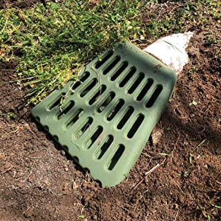 Lawn Wedge Yard Drain For Sump Pump Discharge And Downspout Extensions