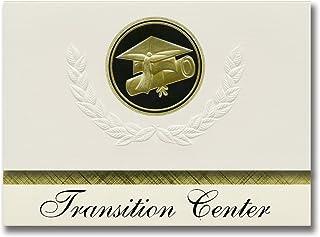 Signature Announcements Transition Center (Mundelein, IL) Graduation Announcements, Presidential style, Elite package of 2...