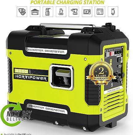 Grupo electrógeno Generador Corriente portátil silencioso a gasolina 2000W 2KW