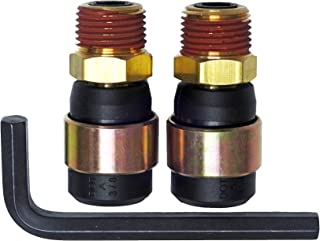 Road King Truck Parts RK-15HS12-2 Rubber Air Line Quick Repair Swivel Kit for Truck and Trailers, 1/2