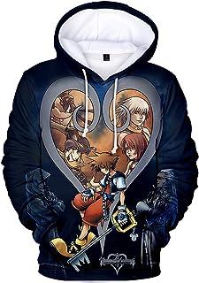 TANGNIU Kingdom Hearts-Suéter 3D para Niños,Ropa Infantil Casual De Manga Larga, Sudadera Transpirable, Jersey De Niño, Su...