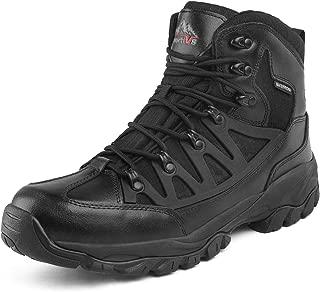 NORTIV 8 Men's Waterproof Hiking Boots Lightweight Mid Trekking Shoes