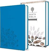 Santa Biblia Rvr 1960 - Tamaño Manual, Letra Grande, Cuero de Imitación, Color Aguamarina / Spanish Holy Bible Rvr 1960, Handy Size, Large Print