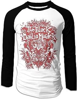 The Black Dahlia Murder Classic Men's Long Sleeve Baseball T-Shirts Black