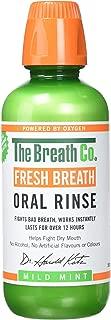 The Breath Co Fresh Breath Oral Rinse - Mild Mint, 500 ml