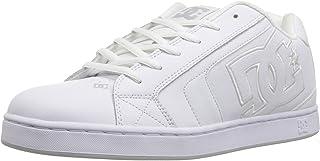 Mens DC Net SE Skate Shoe White, 10.5D D US
