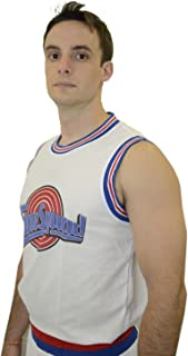 Space JAM Basketball Jersey Shorts Set 23 Tune Squad Shirt Jordan (L)