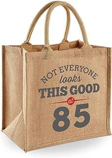 85th Birthday Keepsake Funny Gift Bag for Women Novelty Ladies Female Shopping Present Tote Idea