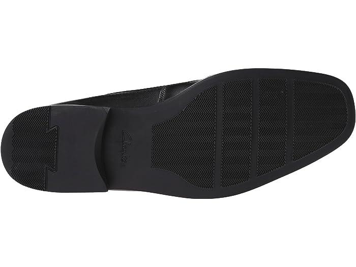Clarks Tilden Free Black Loafers