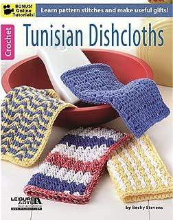 LEISURE ARTS LEA6371 Tunisian Dishcloths Bk