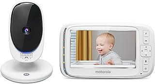 """Babá Eletrônica Motorola Comfort50 de 5"""" Wi-Fi - Branco"""