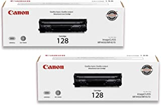 Canon Original 128 Toner Cartridge - Black (2)